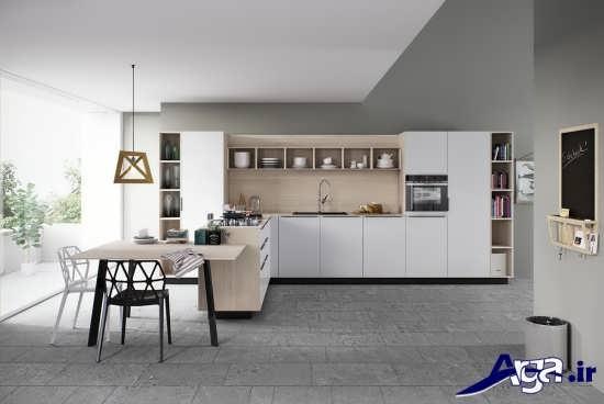طراحی دکوراسیون آشپزخانه های امروزی
