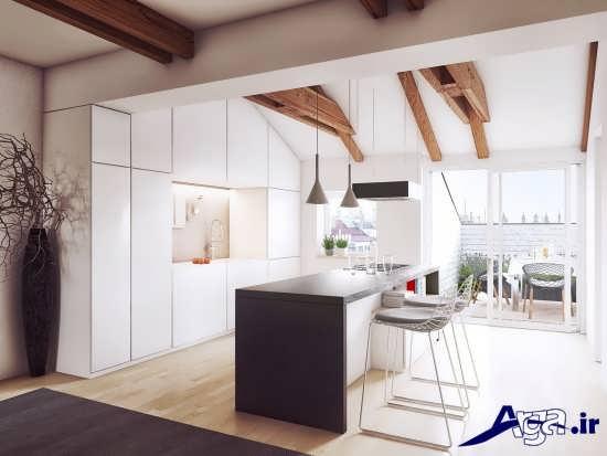 دکوراسیون مدرن و متفاوت آشپزخانه