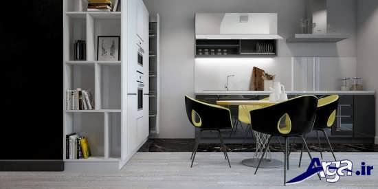 طراحی دکوراسیون آشپزخانه های مدرن