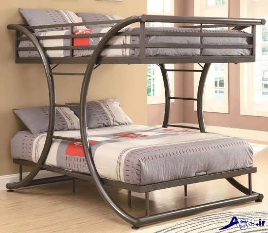 تخت خواب دو طبقه با انواع طرح ها و مدل های زیبا و شیک