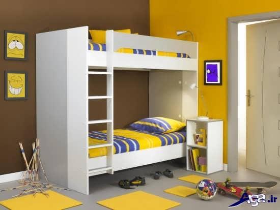 مدل جدید تخت خواب ام دی اف