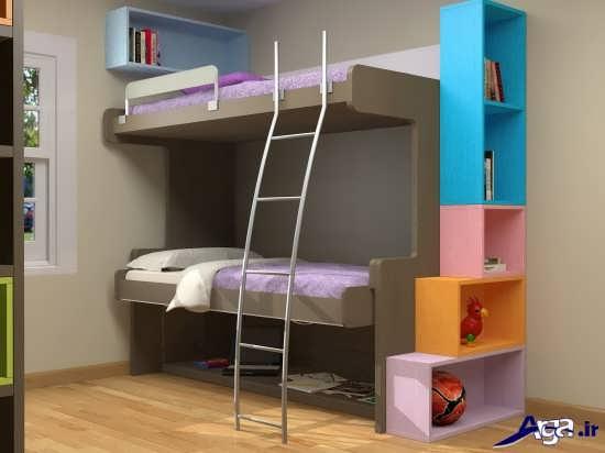 عکس های تخت خواب های دو طبقه زیبا