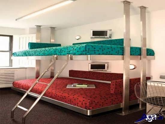 مدل های تخت خواب فلزی جدید