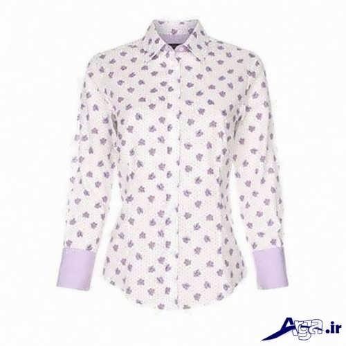 پیراهن زنانه با طرح گلدار
