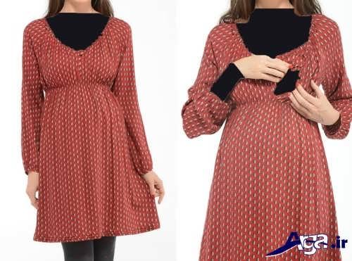 پیراهن با طرح ساده برای دوران شیردهی
