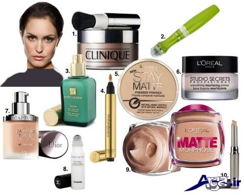 آموزش آرایش صورت با روش های آسان