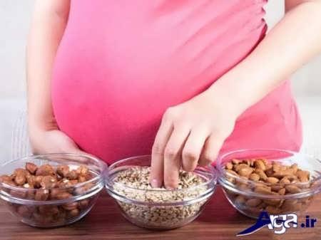 وژن گیری و تکامل جنین