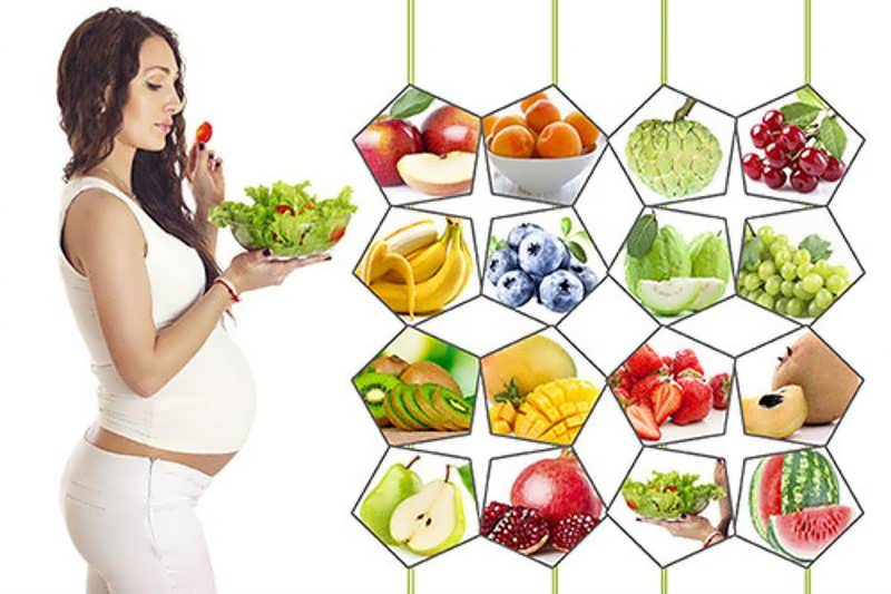 برای وزن گیری جنین در ماه آخر بارداری چه بخوریم؟