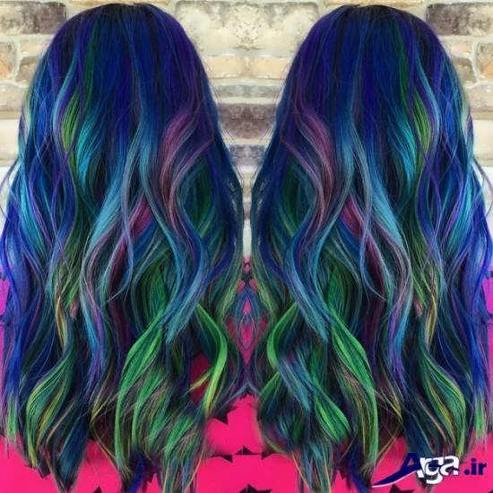 رنگ موی جذاب و ایده آل فانتزی