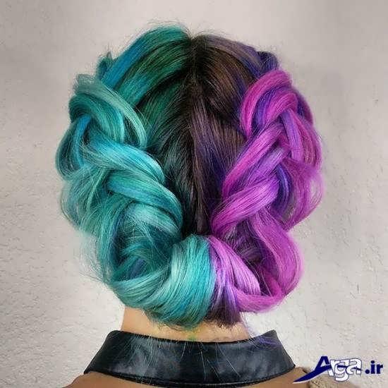 رنگ موی زیبا فانتزی