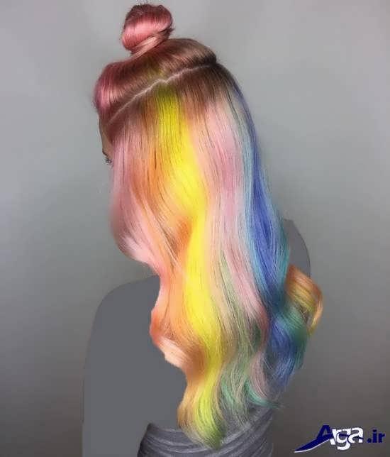 رنگ موهای متفاوت و ایده آل فانتزی