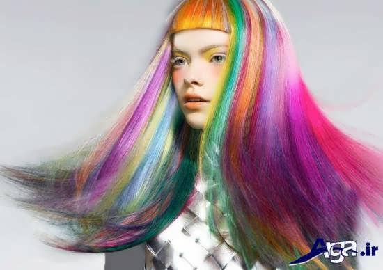 رنگ موی زیبا برای خانم های خوش سلیقه