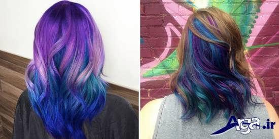 رنگ موی های فانتزی