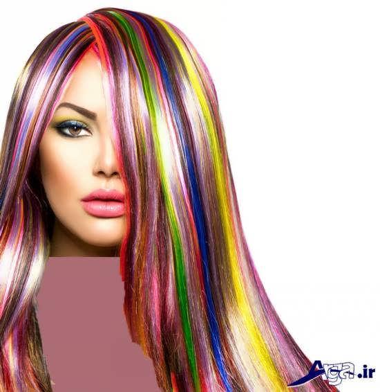 رنگ موی فانتزی زنانه