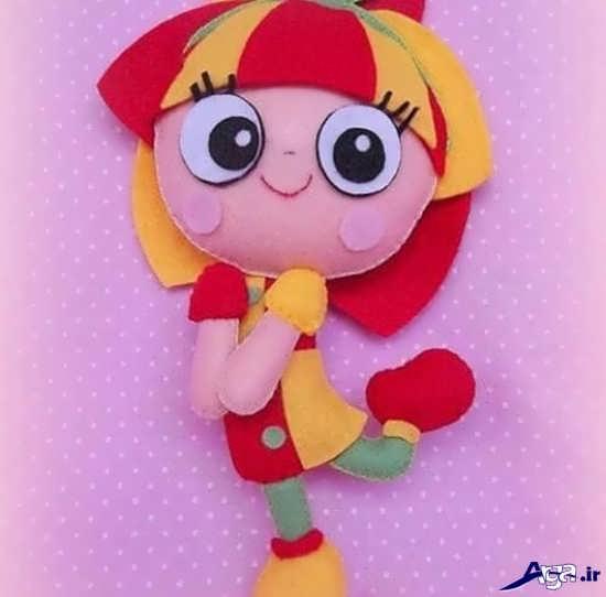 مدل عروسک نمدی زیبا