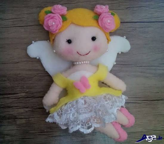 عروسک دختر نمدی زیبا