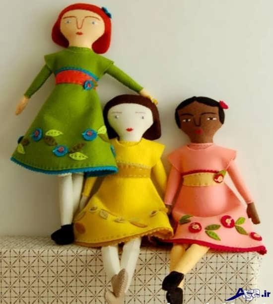 عروسک های نمدی جدید