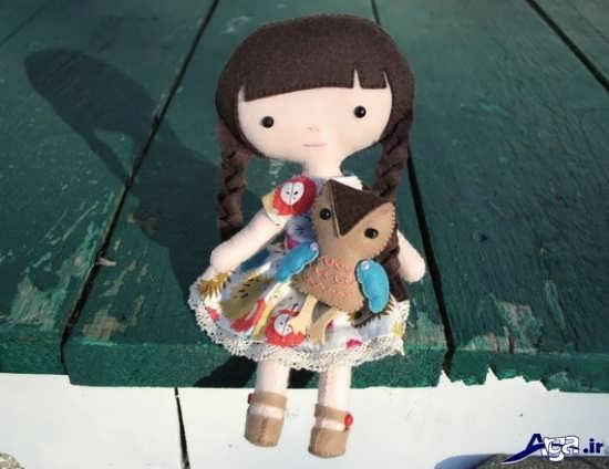 ساخت عروسک نمدی زیبا و جدید برای کودکان