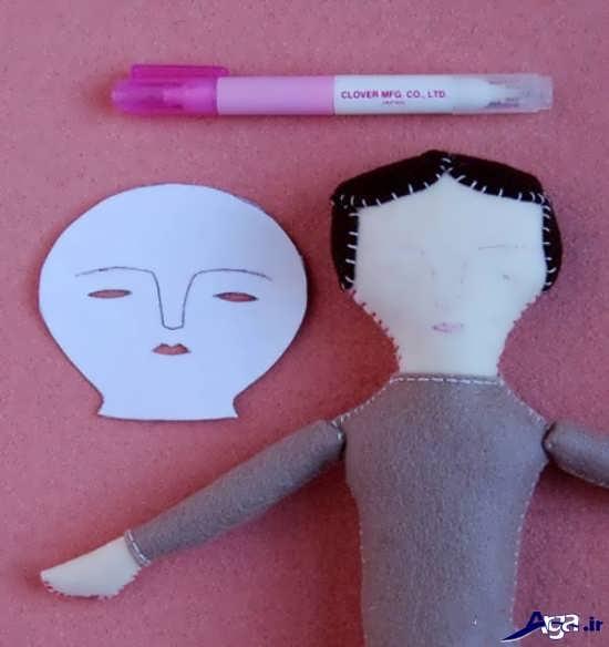 عروسک نمدی زیبا