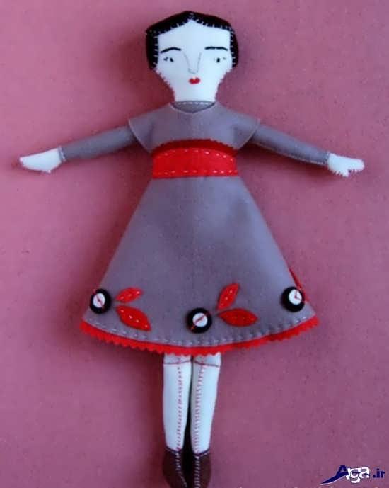 آموزش عروسک با نمد