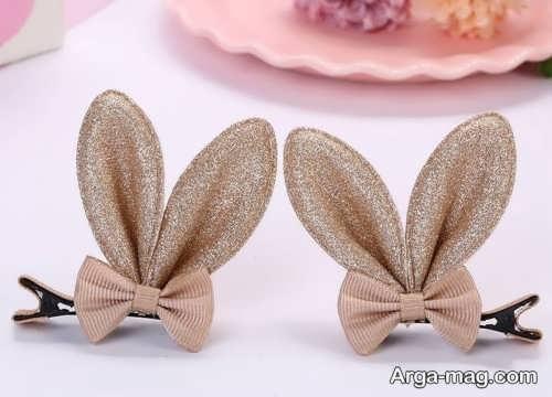 مدل گل سر خرگوشی