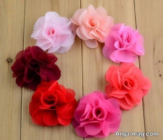 گلسازی با پارچه توری
