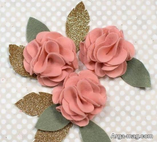 ساخت گل ها با پارچه