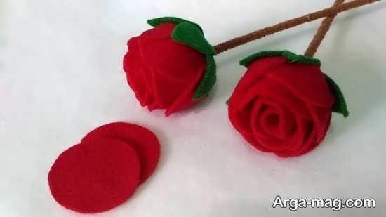 ایده جدید ساخت گل با پارچه