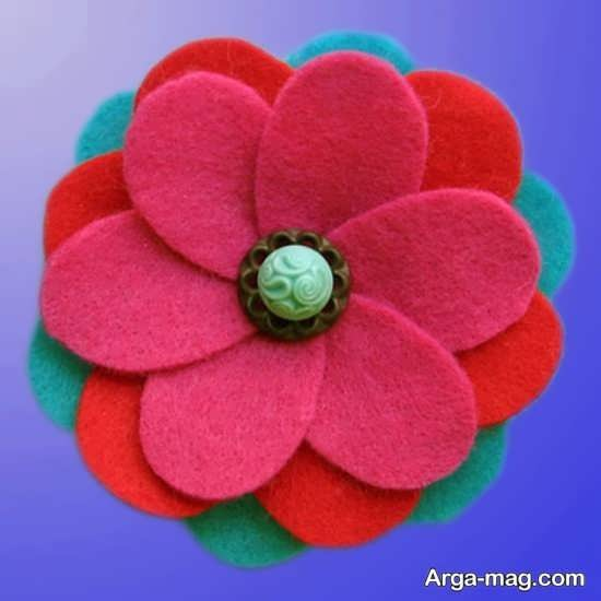 مدلهای ساخت گل با پارچه