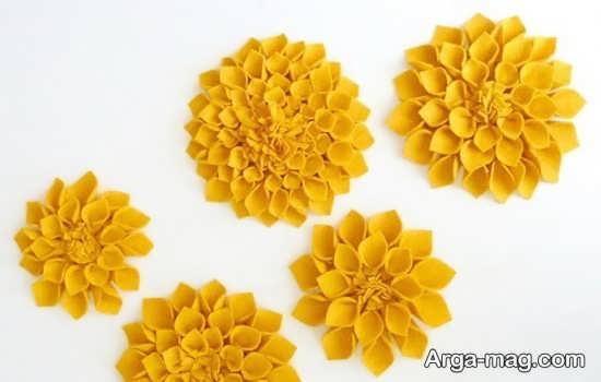 مدلی از گل سازی با فوم