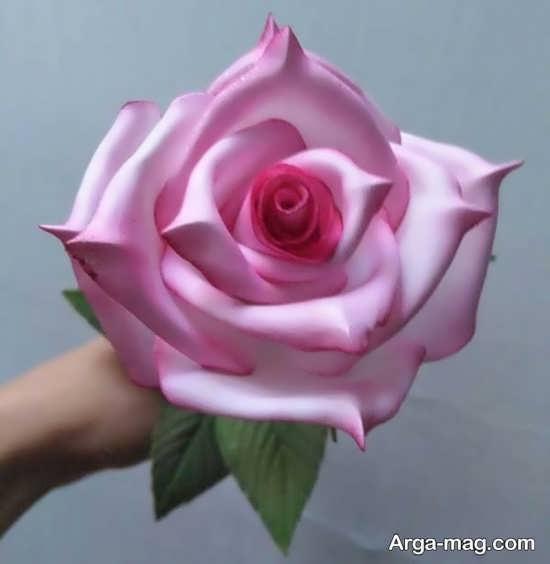 روش گل سازی با فوم