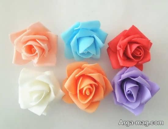 ایده گل سازی با فوم