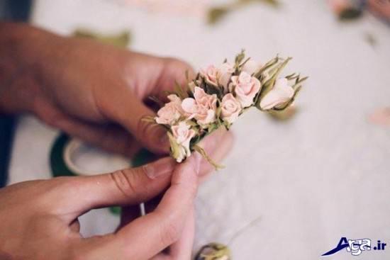 ساخت گل های بلندر زیبا