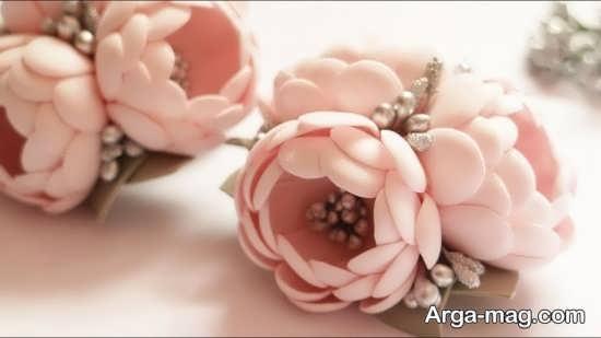 گل سازی خلاقانه با فوم