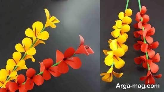 گل سازی با فوم رنگی