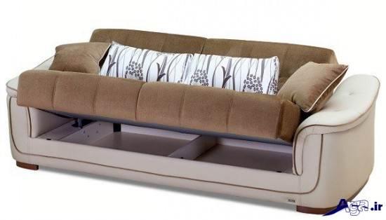 مدل مبل تختخواب شو یک نفره