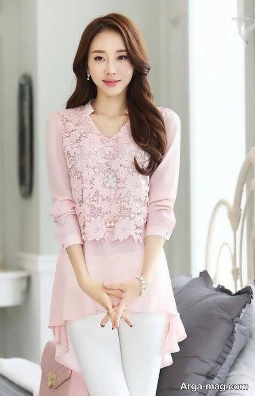 مدل لباس گیپور دخترانه زیبا