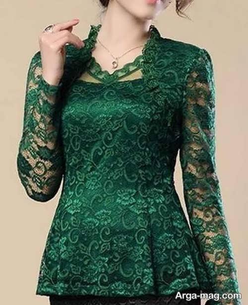مدل لباس گیپوردار جذاب