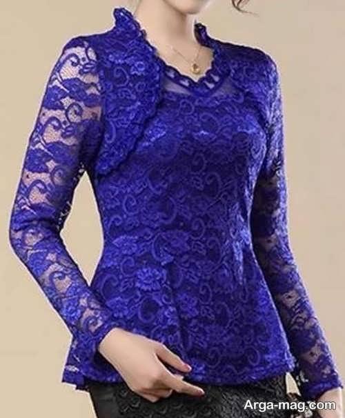 مدل لباس گیپوردار زیبا