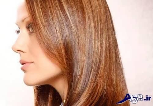 رنگ موی دارچینی روشن