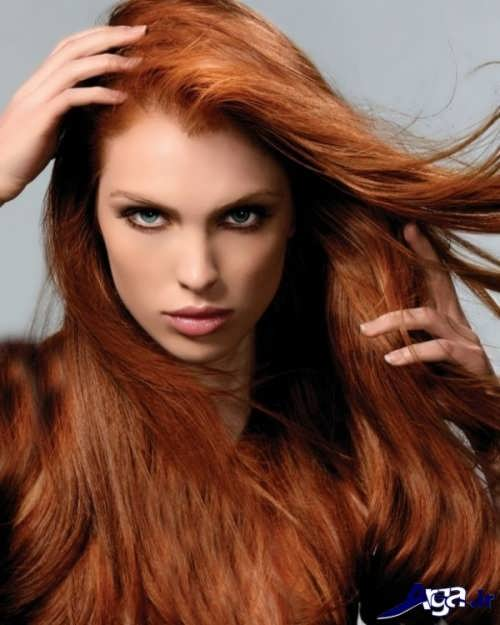 رنگ موی ترکیبی دارچینی