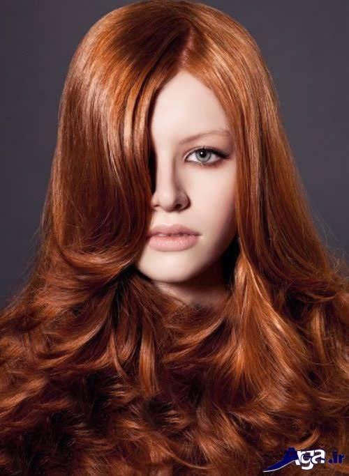 رنگ موهای زیبا و جدید دارچینی
