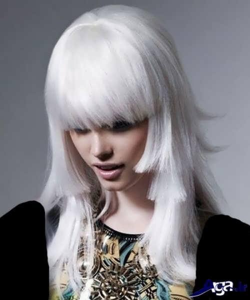 رنگ موی ترکیبی یخی