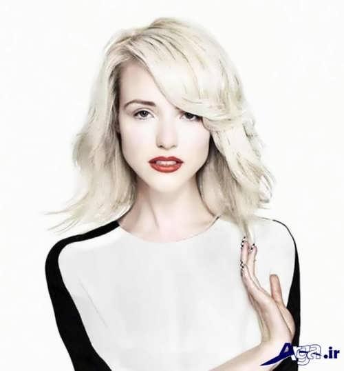 رنگ موی دخترانه بخی
