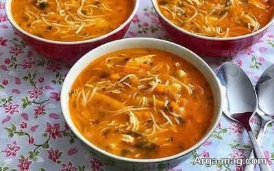 نحوه تهیه سوپ ورمیشل