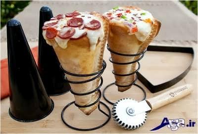 دستور تهیه پیتزا قیفی با بهترین روش