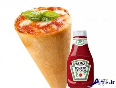 دستور تهیه پیتزا قیفی در خانه