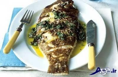 تزیین ماهی شیر
