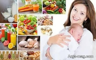 زیاد شدن شیر مادران