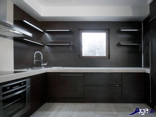 دیزاین کابینت جدید و زیبا برای اشپزخانه